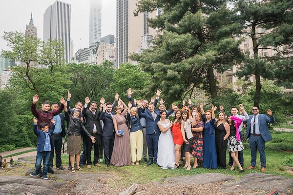 Central Park Wedding - Eduardo & Debbie