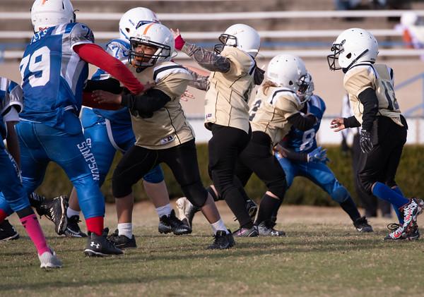 Jr Pro vs Franklin 4th grade