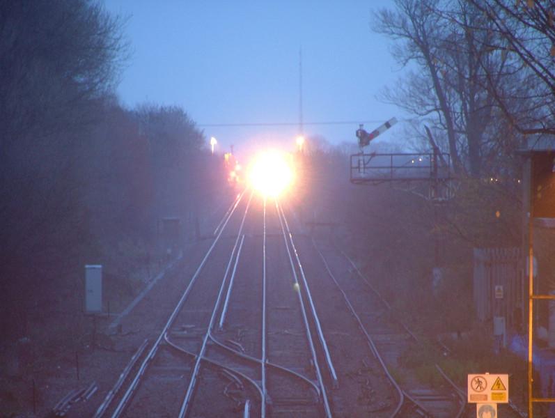 A Train Approaches