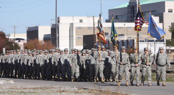 Veteran's Day parade Norman 2013
