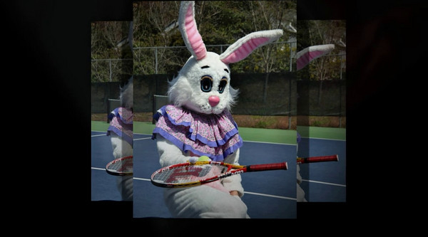 Montecito Heights Racquet Rabbit Party!  2010