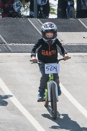 Kellan 2017 BMX Bike Racing 1st Day!