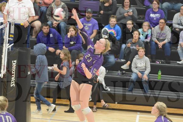Baxter Volleyball vs. North Tama 10-10-19