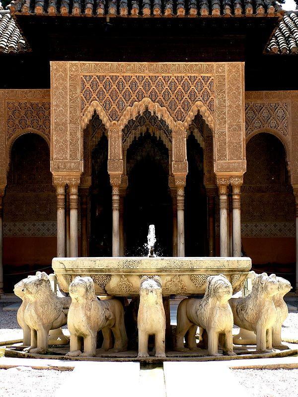 alhambra lions