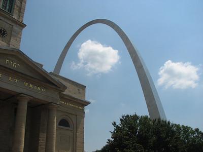 St. Louis Arch, St. Louis MO, Summer 2007