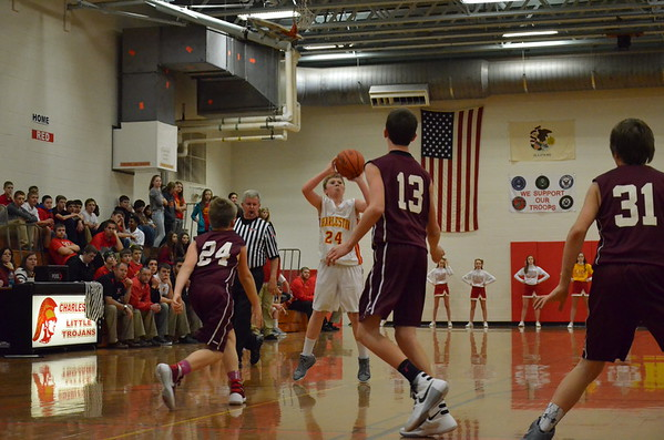 CMS guys basketball vs Unity January 12, 2016