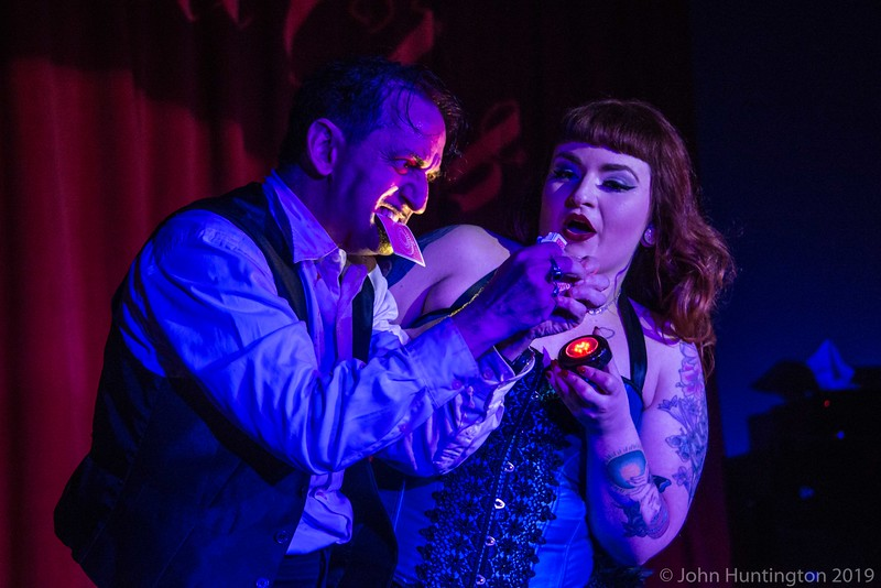 Force Majeure Vaudeville at the Cobra Club, February 28, 2016