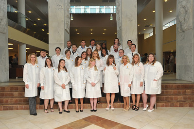 28271 Medical Laboratory Sciences White Coat Ceremony April 2012