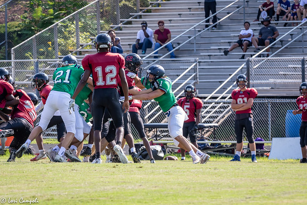 LRHS FB Scrimmage 081019