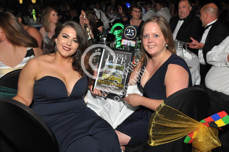 Swansea Life Awards 2017 Brangwyn Hall, Swansea Hotel Runners Up... Oxwich Bay Hotel