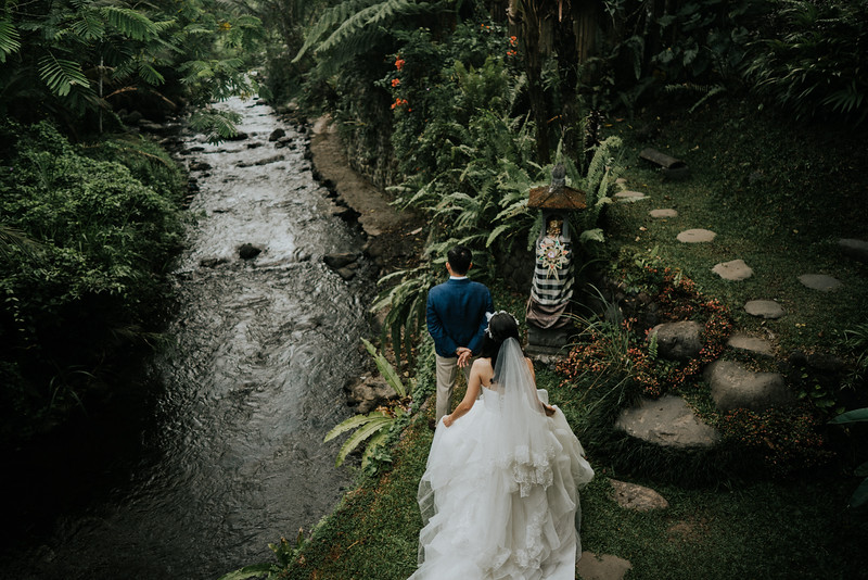 Bali Elopement Wedding of Daniel & Jenny