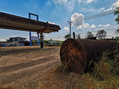 Abandoned Rayong Gas Station