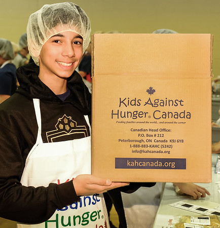 Rotary - Kids Against Hunger Food Pack Assembly - Nov  24 2018
