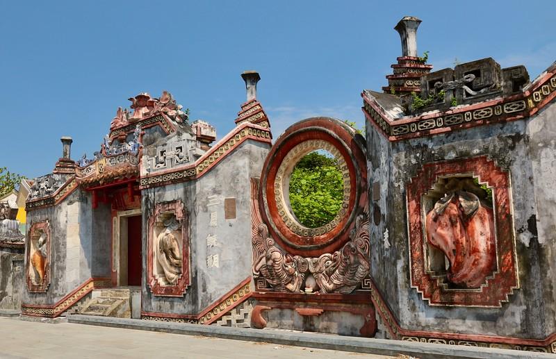 Ba Mu Temple Gate - Hoi An