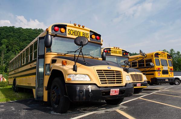 pownal school buses 071119