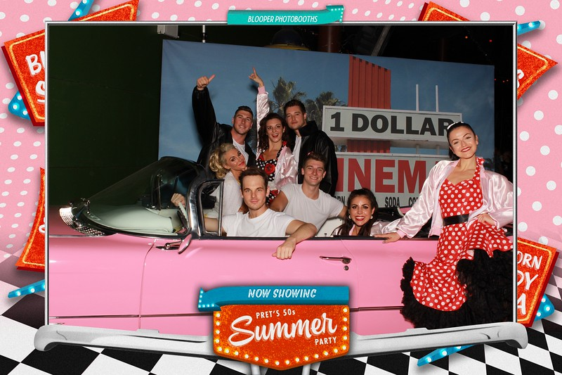 Pret's 50s Summer Party