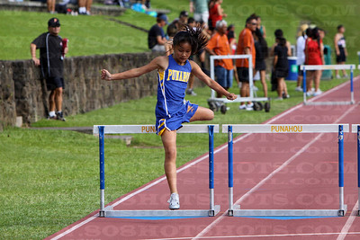 Girls 300m Hurdles 022610