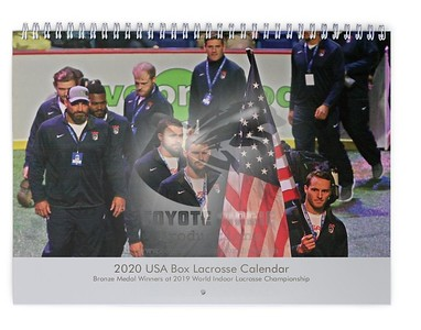 2020 USA Box Lacrosse Calendar