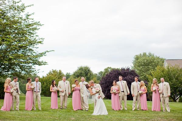 Lindsay & Marc | Backyard Wedding