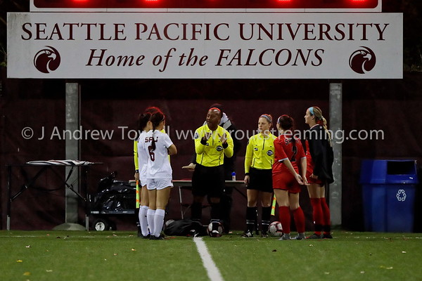 20191017 Womens Soccer Seattle Pacific University Falcons versus Saint Martins University Saints Snapshots