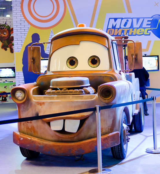 Pixar Cars at Igromir 2011