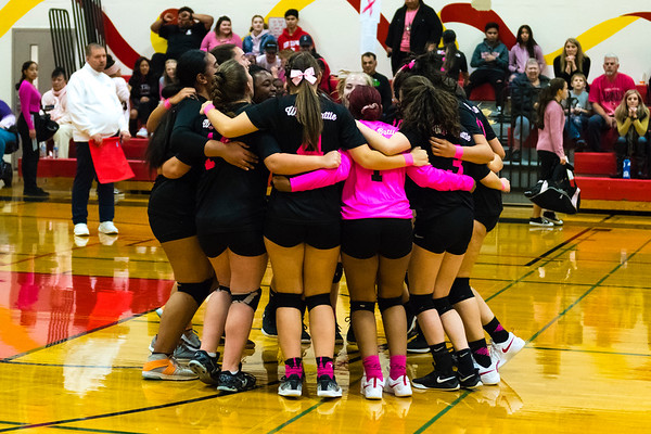 Cardinal Volleyball 10-9-2019.....by Barney