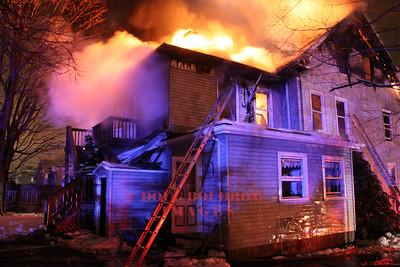 Saugus, MA - 2nd Alarm, 11 Taylor Street, 3-20-13
