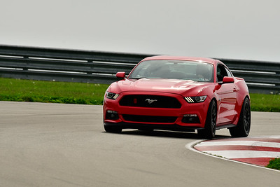 2019 SCCA TNiA May Pitt Race Red Mustang