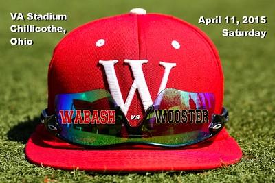 2015 Wabash vs Wooster (04-11-15)