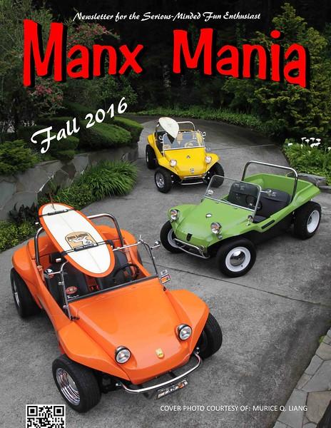 Manx Mania - Fall 2016