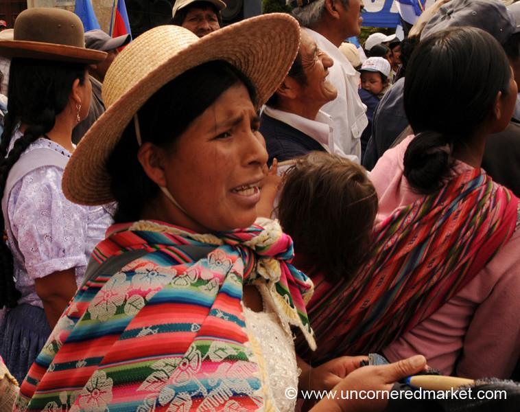 Election Season in Bolivia - Political Rally in Tupiza