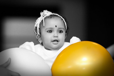 Happy 1st birthday Advita