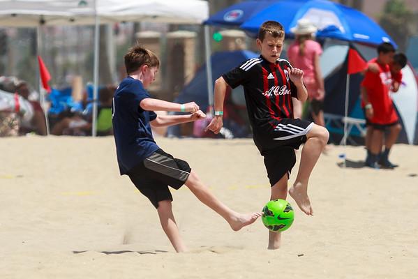 Sand Soccer vs Canyon