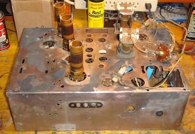 Zenith 6B129 (AC Converted) Restoration
