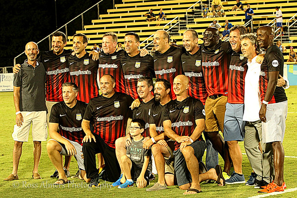 Charleston Battery 1996 Championship Team Reunion