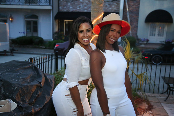 ALL WHITE PARTY with Bernice Burgos