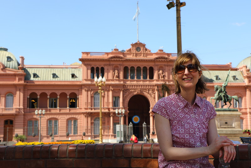 "Casa Rosada ""Pink House"" - Eva Paron speech"