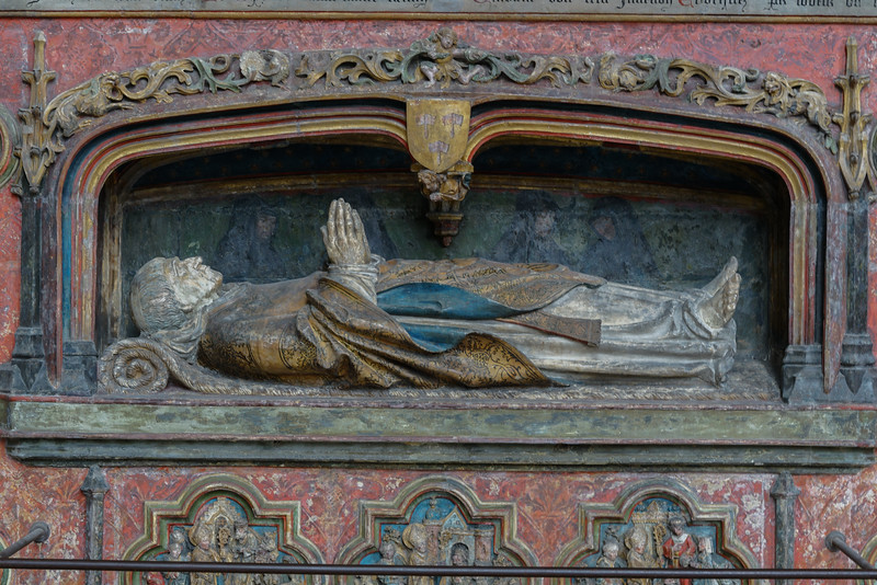 Amiens, Notre-Dame Cathedral, Saint-Fermin Memorial
