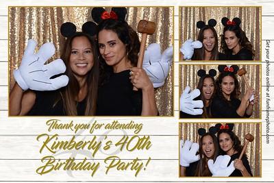 Kimberly's 40th