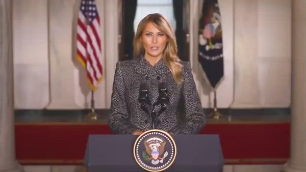 Farewell Message from First Lady Melania Trump