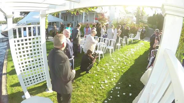 Jenifer + Ryan wedding video and fusion show Boathouse Villa Bay Pointe Inn