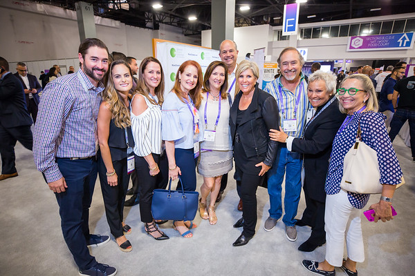 EXPO FLOOR: Suze Orman CNBC & Startup Visit