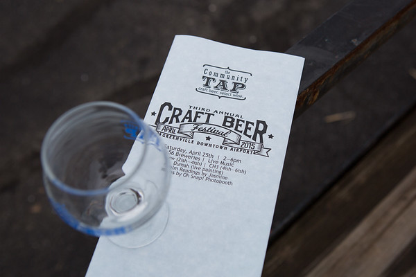 Third Annual Craft Beer Fest- April 2015