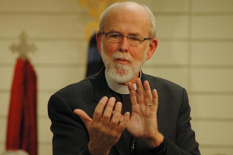 Presiding Bishop Mark S. Hanson.