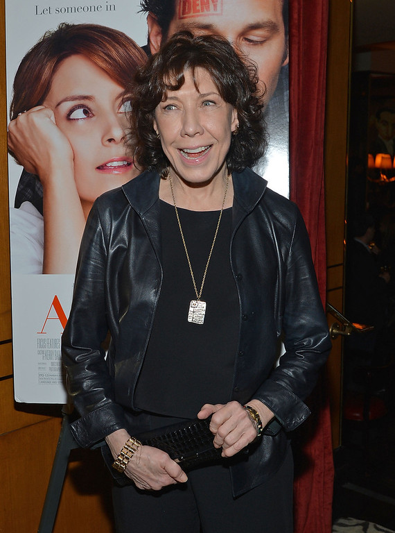 ". Actress Lily Tomlin attends ""Admission\"" New York Premiere After Party at Monkey Bar on March 5, 2013 in New York City.  (Photo by Mike Coppola/Getty Images)"