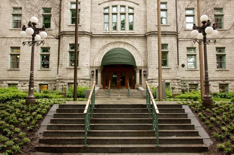 City Hall, Quebec City, Canada.