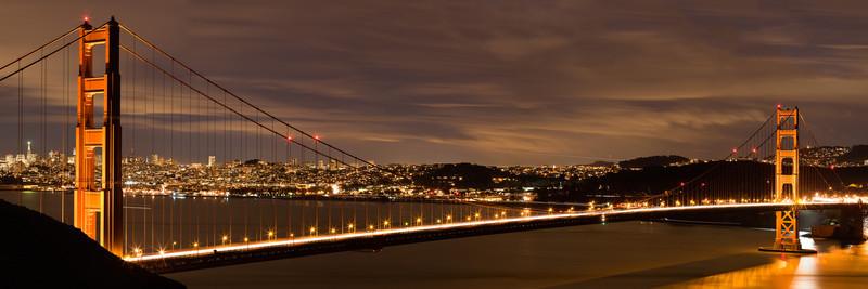 Golden Gate Bridge A 3:1 panorama stitched with PTGui