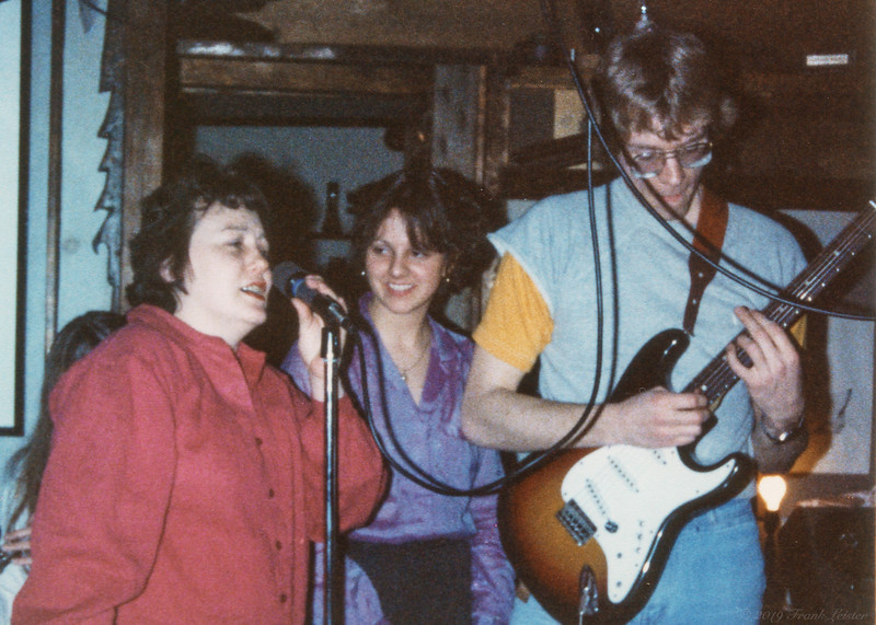 Shirley Lebin, Cheryl Jordan, FL - Jam at Lebins March 1, 1980.