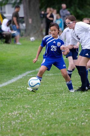 Girls Suffield Soccer spring 2012 u11