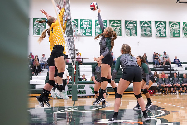 Tongue River Volleyball vs. Wright (10-25-2019)
